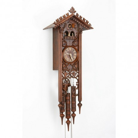 Long Bahnhusle Cuckoo Clock with 8 Day Movement