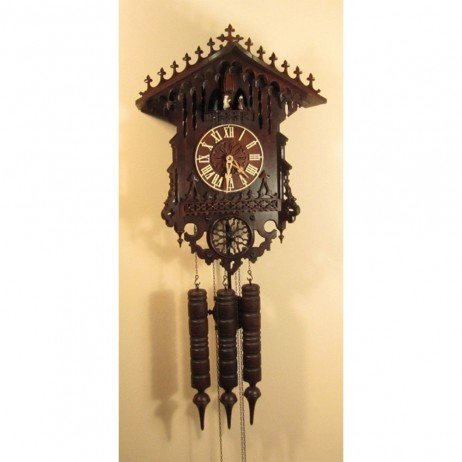Cuckoo Clock 8 Day Movement Christophe Gothic 1850
