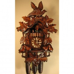 Rombach und Haas Pears Cuckoo Clock with 8 Day Movement