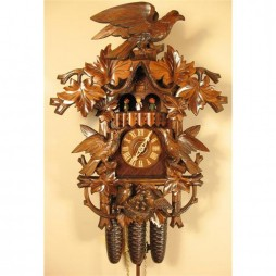 Rombach und Haas Hawk and Birds Cuckoo Clock with 8 Day Movement