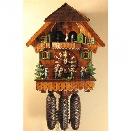 Rombach und Haas Musicians Cuckoo Clock with 8 Day Movement