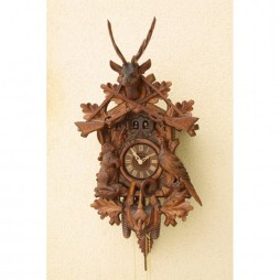 Rombach und Haas Pheasant and Rabbit Cuckoo Clock with 8 Day Movement