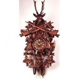 Rombach und Haas Grand Hunt Cuckoo Clock with 8 Day Movement