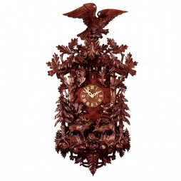 Rombach und Haas Great Forest Cuckoo Clock with 8 Day Movement