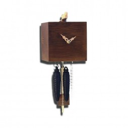 Free Birds - Bamboo Cuckoo Clock - One-Day Movement - Walnut Finish