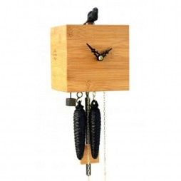 Free Birds - Bamboo Cuckoo Clock - One Day Movement