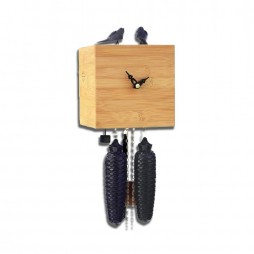 Free Birds - Bamboo Cuckoo Clock - 8 day Movement