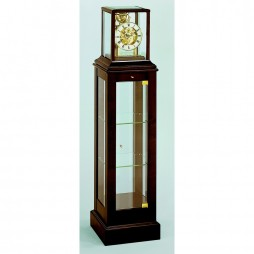 Kieninger Curio Floor Clock - French Walnut 1712-23-01