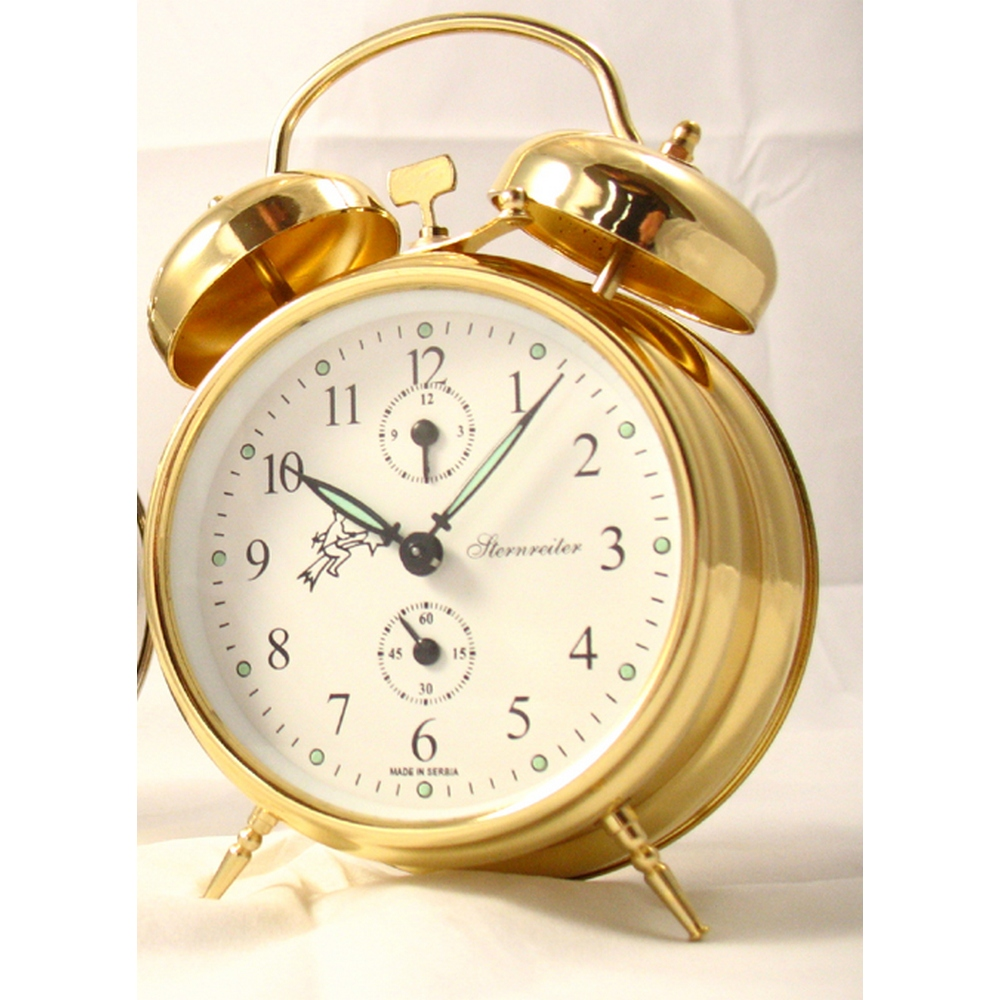 Wind Up Alarm Clocks Sternreiter And Bulova Mechanical