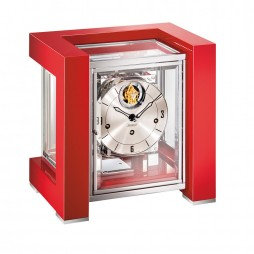 Tourbillion Mechanical Mantel Clock - Red Kieninger Tetrika 1266-77-04