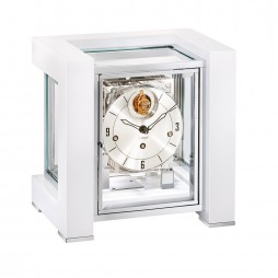 Tourbillion mechanical mantel clock Kieninger Tetrika 1266-95-04