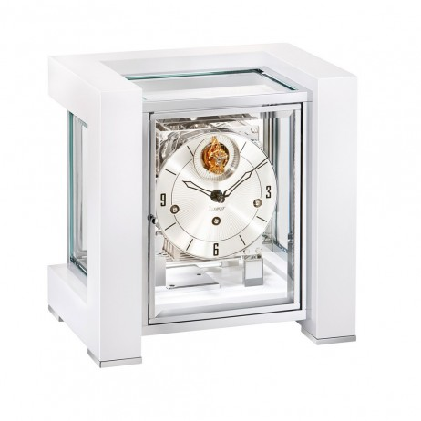 Tourbillion mechanical mantel clock Kieninger Tetrika 1266-95-04