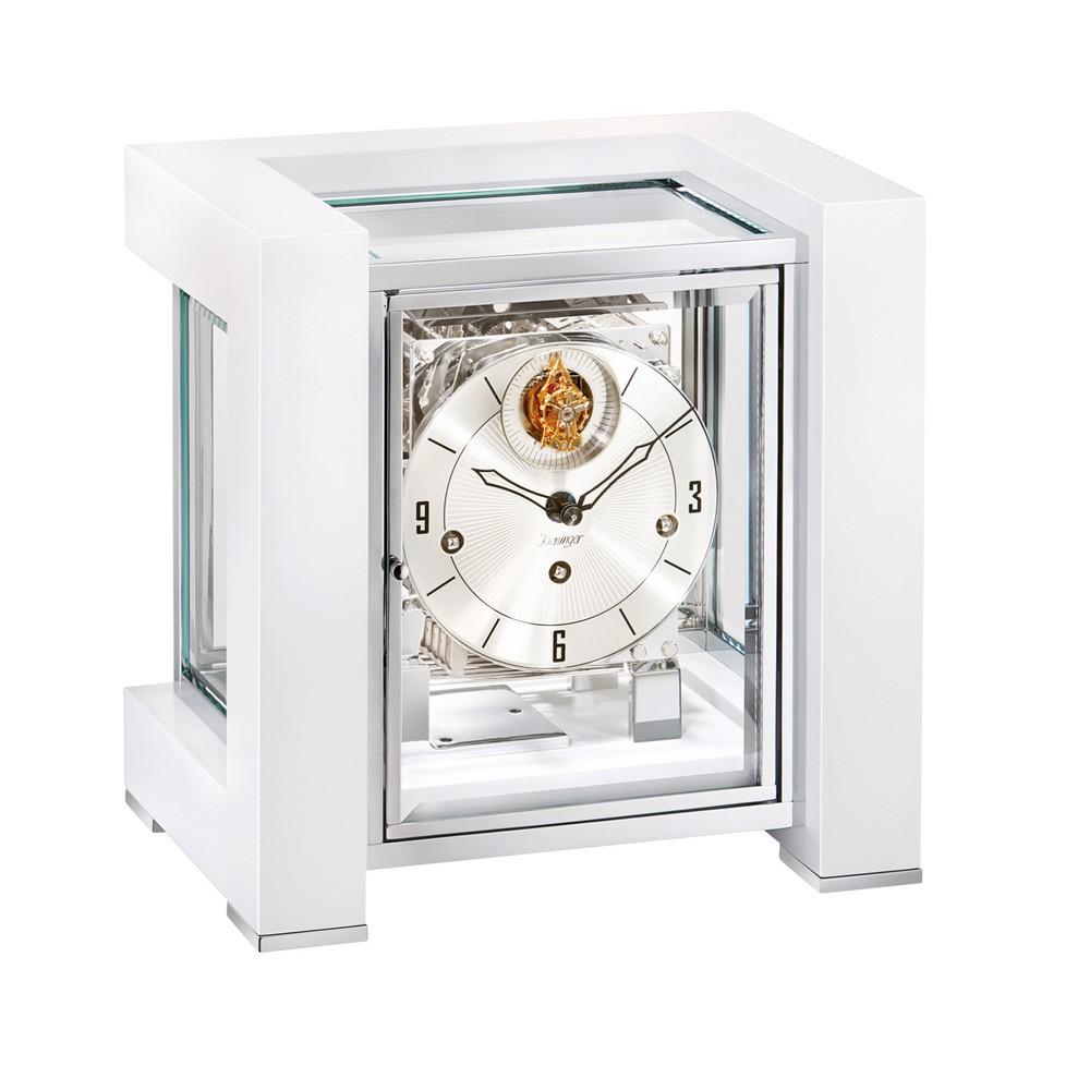 Tourbillion Mechanical Mantel Clock Kieninger Tetrika 1266