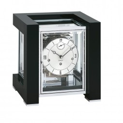 Mechanical Clock - Kieninger Tetrika Mantel Clock Black Piano 1266-96-03