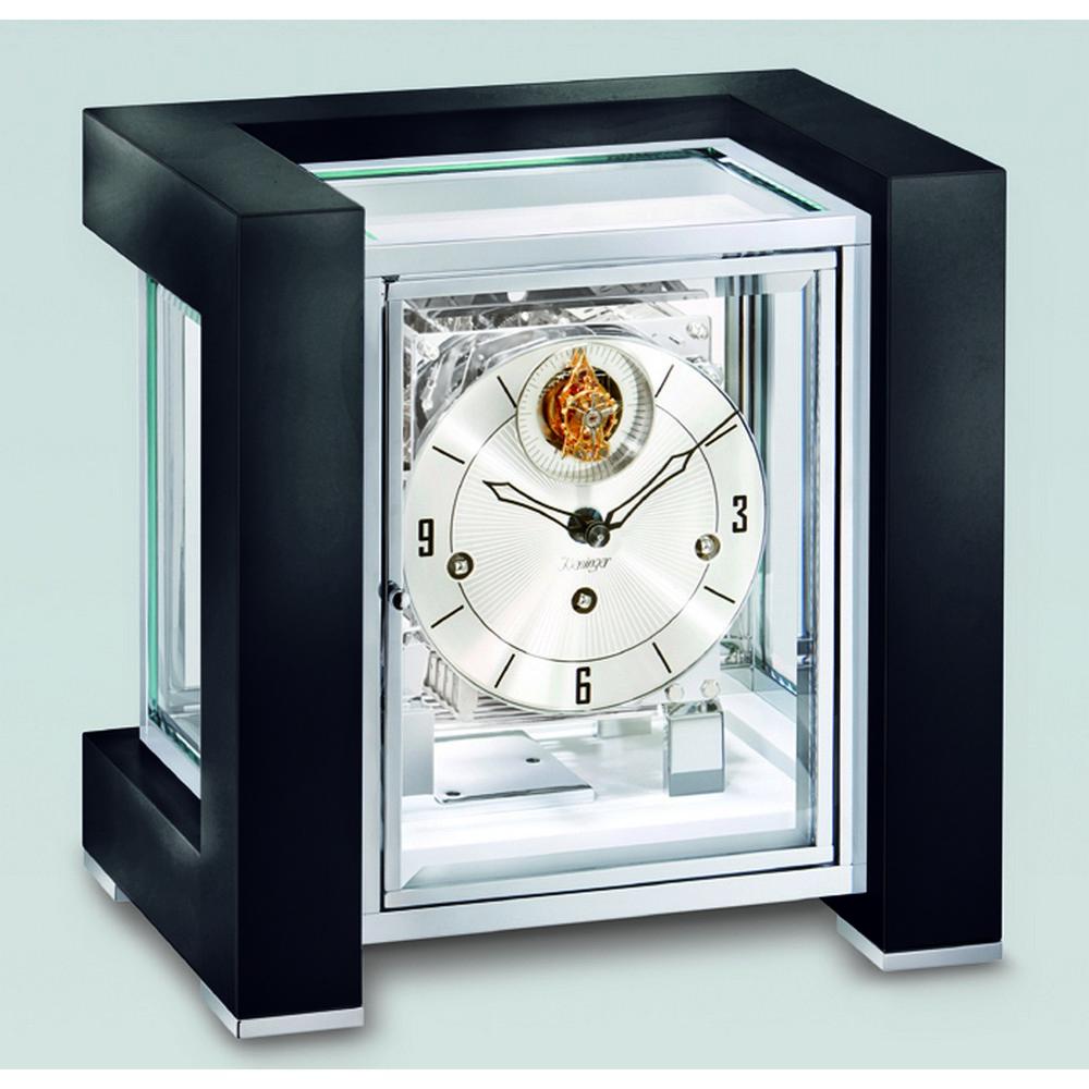 tetrika tourbillion mantel clock black 1266 96 04. Black Bedroom Furniture Sets. Home Design Ideas