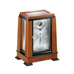 Kieninger Aida Mechanical Mantel Clock - Natural Cherry
