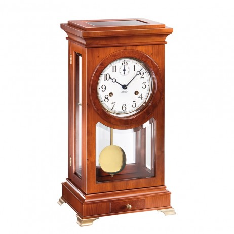 Kieninger Dorian Mechanical Mantel Clock - Natural Cherry Finish