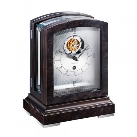 Kieninger Panoramika Tourbillon Mantel Clock - Black 1277-96-01
