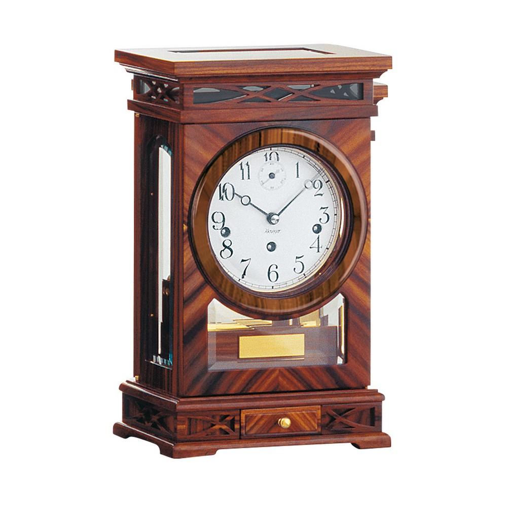 Kieninger Rosewood Mechanical Mantel Clock 1291 56 01