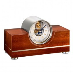 Riva Tourbillon Mechanical Mantel Clock Kieninger 1292-31-01
