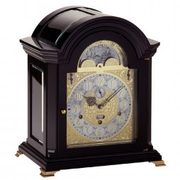 Kieninger Haffner Mechanical Clock - Black Lacquer Finish