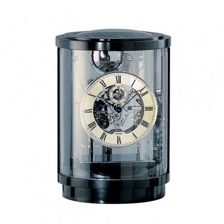 Kieninger Akuata Mechanical Mantel Clock - Black Lacquered Case 1711-96-02