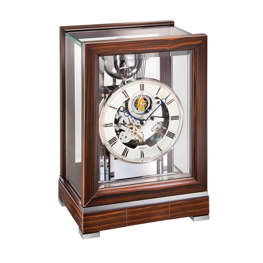 Kieninger mechanical clocks discount prices clockshops kieninger tourbillon bells mantel clock 1713 57 01 amipublicfo Images