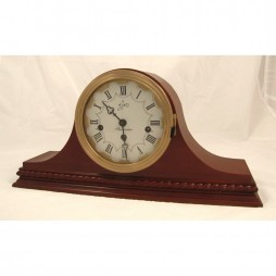 Sternreiter Verdi Mechanical Tambour Mantel Clock - American Cherry