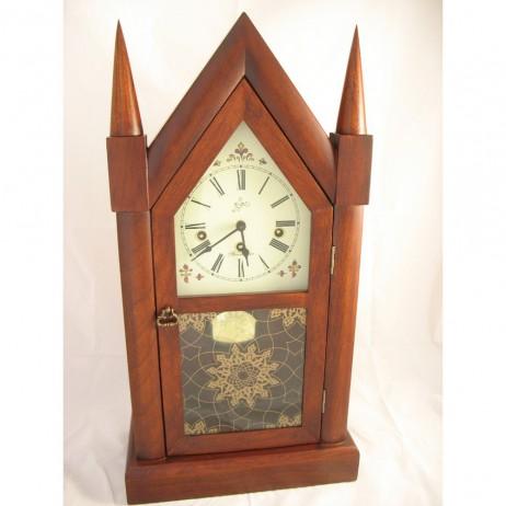 Sternreiter New Haven Steeple Clock 8-Day Key-Wound
