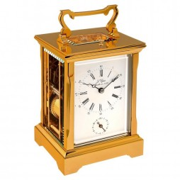 L'Epee Anglaise Gold-plated Carriage Clock -  63.6741/011