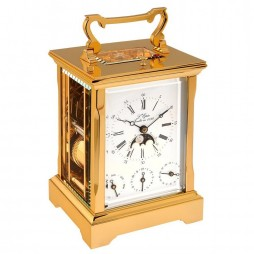 L'Epee Anglaise Gold-plated Carriage Clock