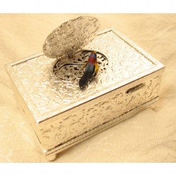 Bird in a Box - Silver
