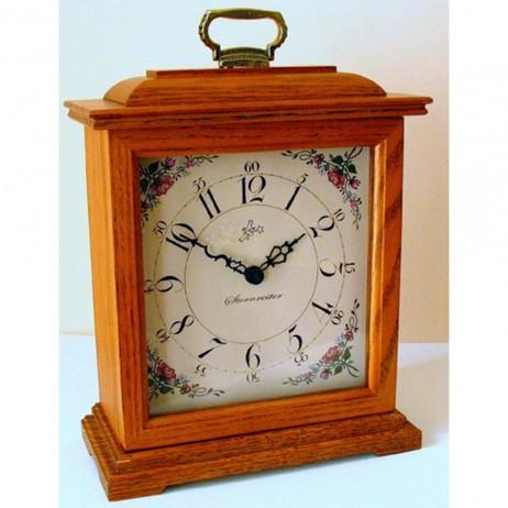 Sternreiter Sloan Bracket Clock - Oak QM 028 372 04