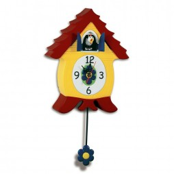 Anna Poultree Chicken Cuckoo Clock