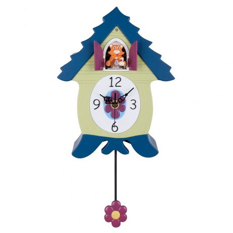 Cuckoo Clock for Children - MeowCoo Tommy Tango Cat Clock