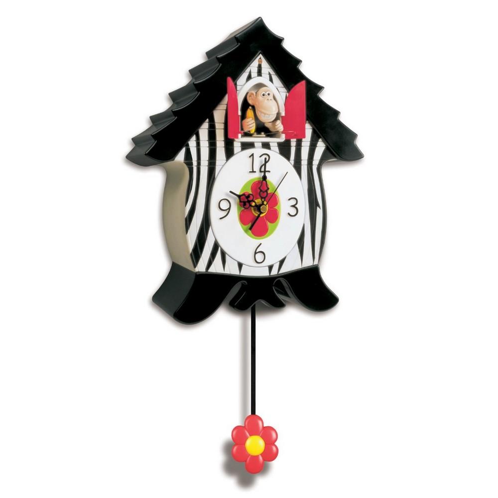 orangucoo monkey cuckoo clock cuckoo clocks for kids. Black Bedroom Furniture Sets. Home Design Ideas