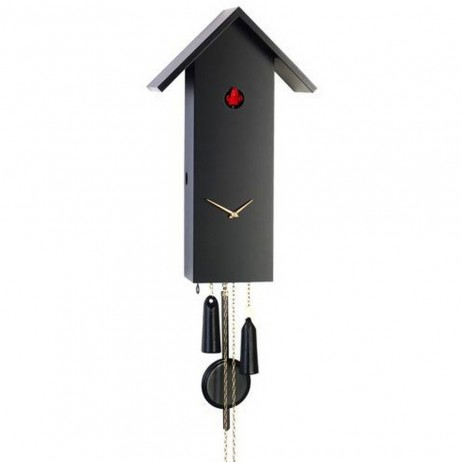 Contemporary Cuckoo Clock 1 Day Movement Rombach und Haas Simple Line