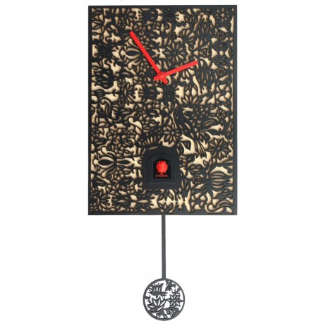 Rombach und Haas Filigree Wall Clock SNQ-2