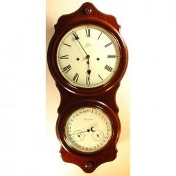 Sternreiter Ithaca Spring-wound Calendar Wall Clock SW 808 786 08 American-cherry finish