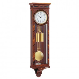 Kieninger Rosewood Mechanical Weight-driven Regulator Wall Clock