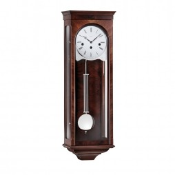 Kieninger Classic Key-wind Regulator Wall Clock - Walnut 2631-22-01
