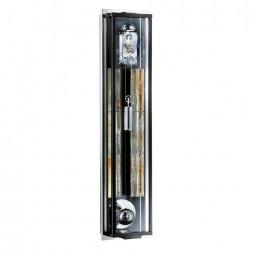 Kieninger Spherica Mechanical Weight-driven Regulator Wall Clock - Black Lacquer
