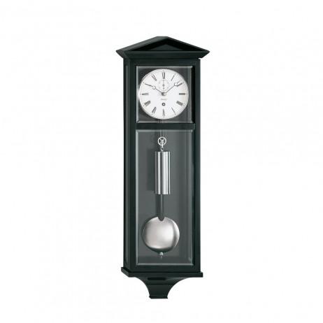 Kieninger Dachl Mechanical Weight-driven Regulator Wall Clock - Black Lacquer Finish