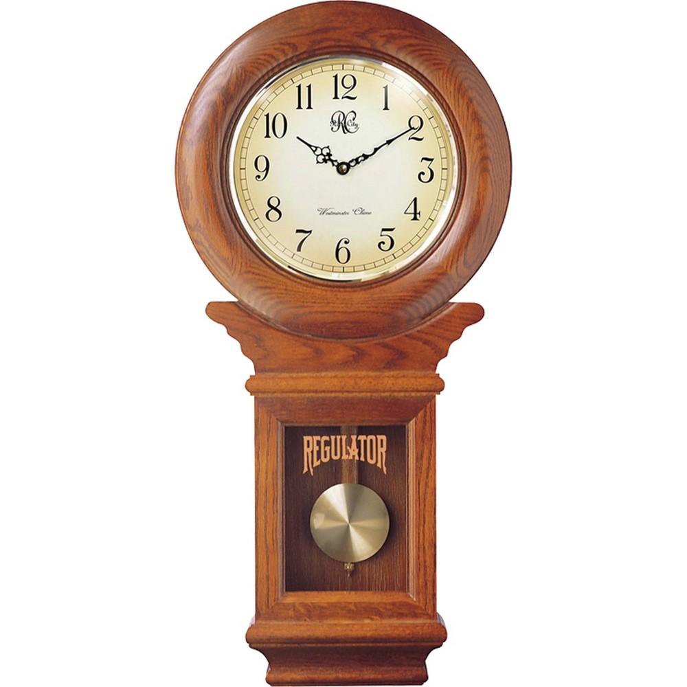 River City Clocks Classic Schoolhouse Regulator Wall Clock  : RC 3416O from clockshops.com size 1000 x 1000 jpeg 99kB