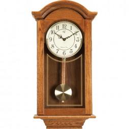 River City Clocks Classic American Regulator Wall Clock - Oak 6023O