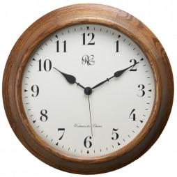 Oak Post Office Chiming Wall Clock