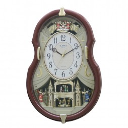 Viola Entertainer II Musical Motion clock 4MH829WD06