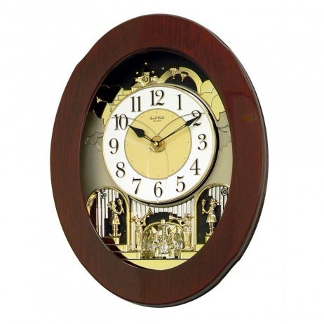 Grand Nostalgia Entertainer Magic Motion clock 4MH838WD06