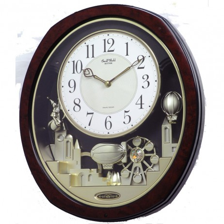 Joyful Land Musical Motion clock 4MH850WD23
