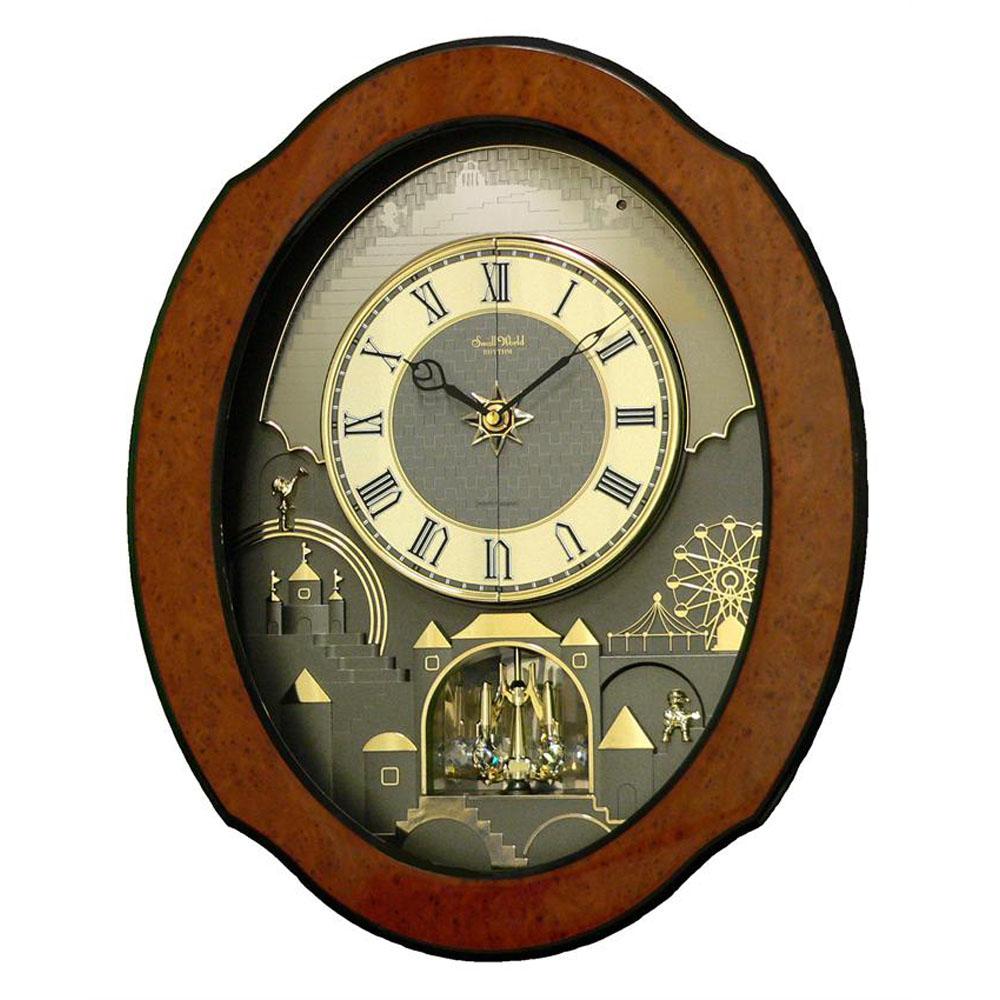 Rhythm Timecracker Ultra Ii Magic Motion Clock 4mh864wu06
